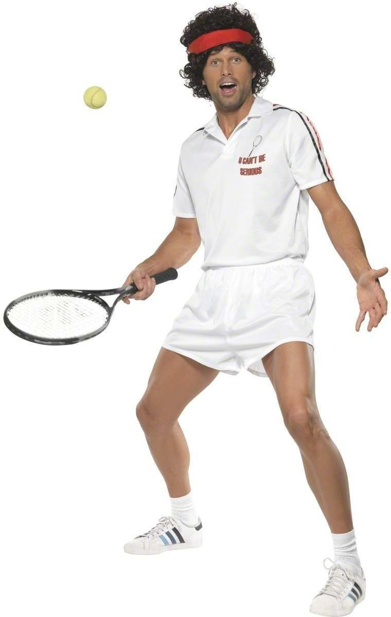 You Cannot Be Serious Tennis Player Fancy Dress Costume (Sport)