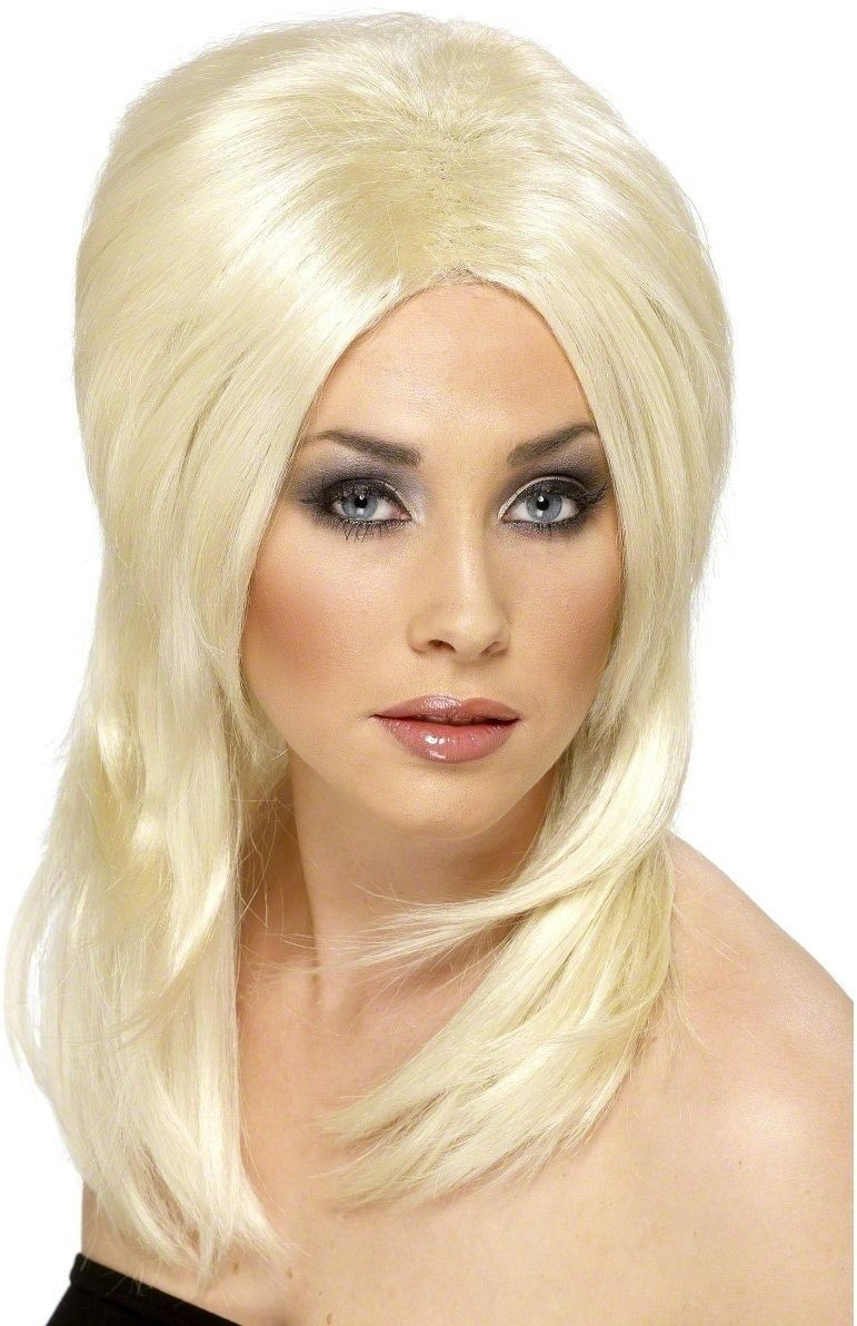 Covergirl Wig - Fancy Dress Ladies - Blonde