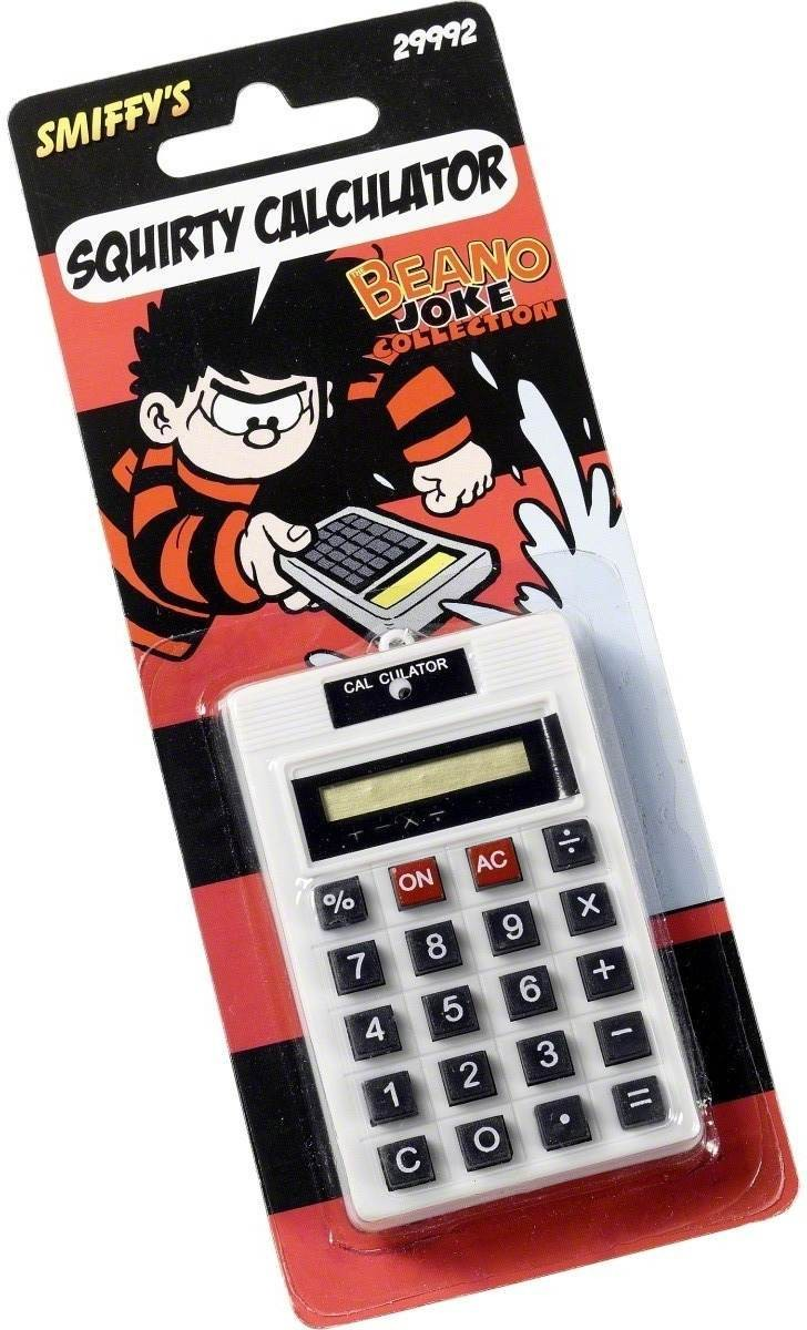 Squirt Calculator - Fancy Dress (Cartoon)