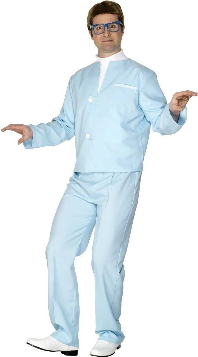 Thunderbirds Brains Fancy Dress Costume Mens (1970S, 1980S, Cartoon, Film)