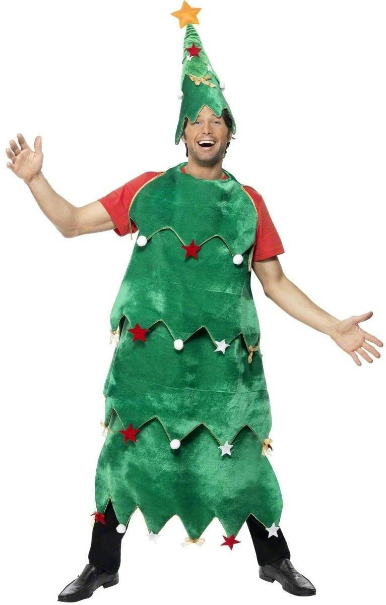 Christmas Tree Fancy Dress Costume Mens (Christmas)