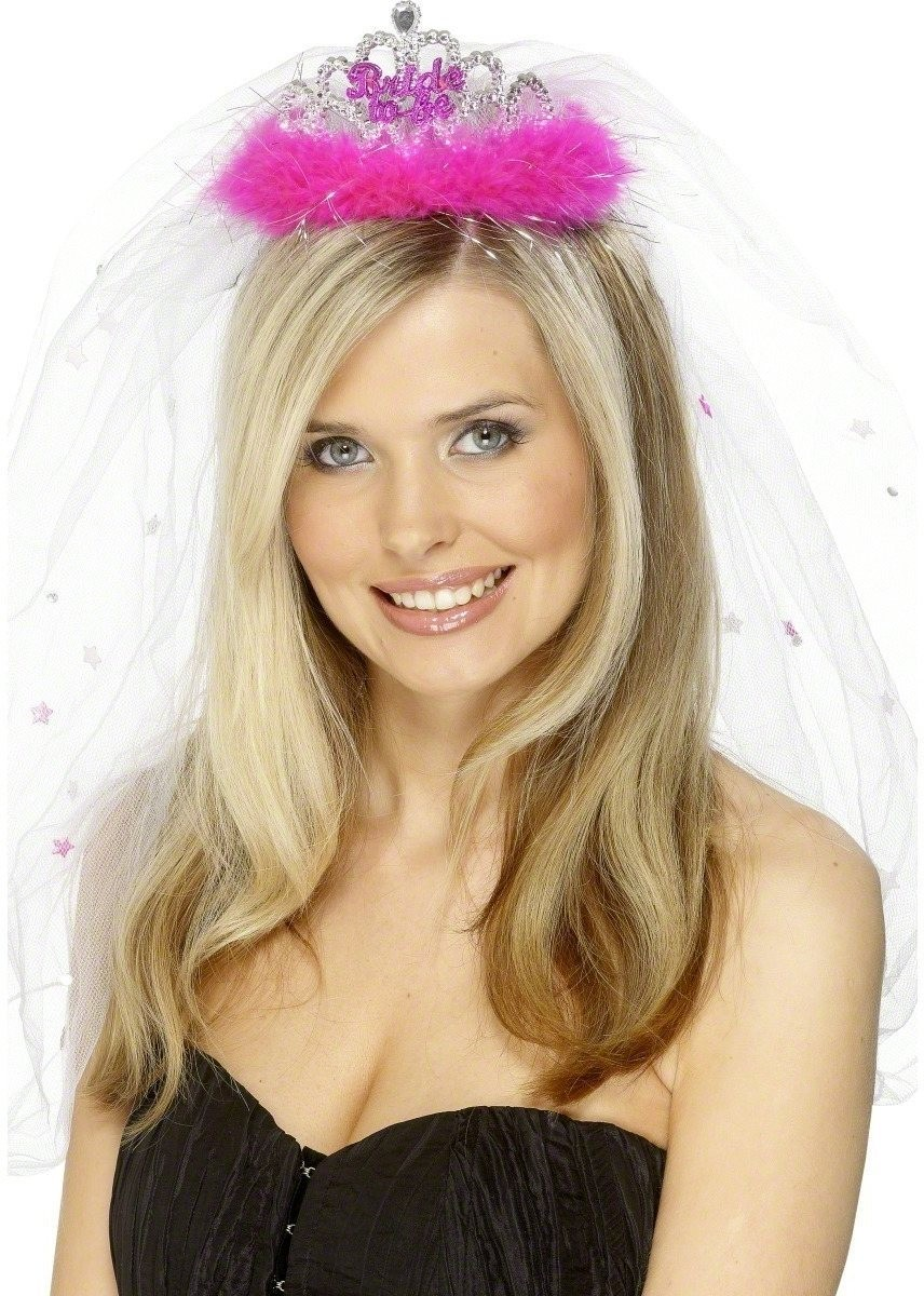 Bride To Be Tiara And Veil - Fancy Dress Ladies (Hen & Stag)