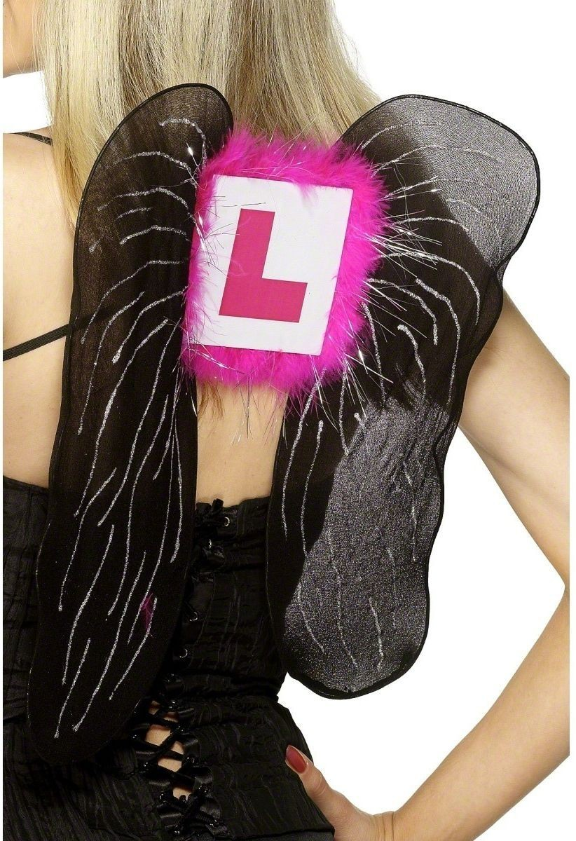 Hen Night L-Plate Wings - Fancy Dress Ladies (Hen & Stag)