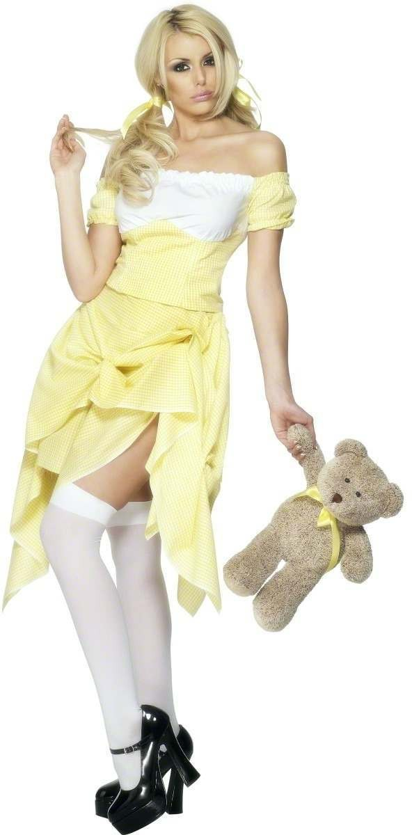 Fever Goldilocks Fancy Dress Costume Size 8-10 S Ladies (Sexy)