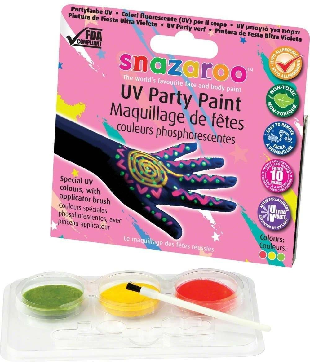 Uv Special Effect Make-Up Kit - Fancy Dress