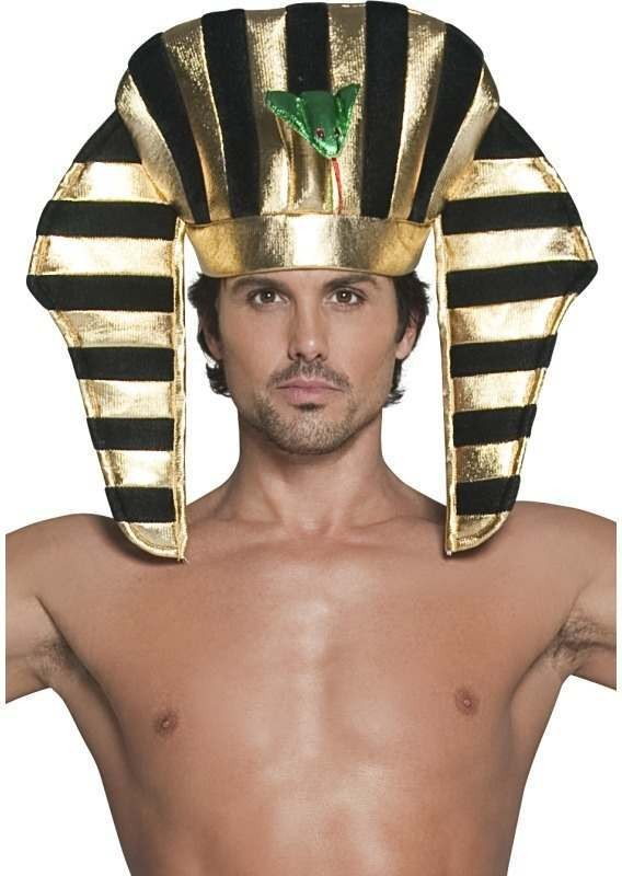 Pharaoh Headpiece (Legends/Myths Fancy Dress Hats)