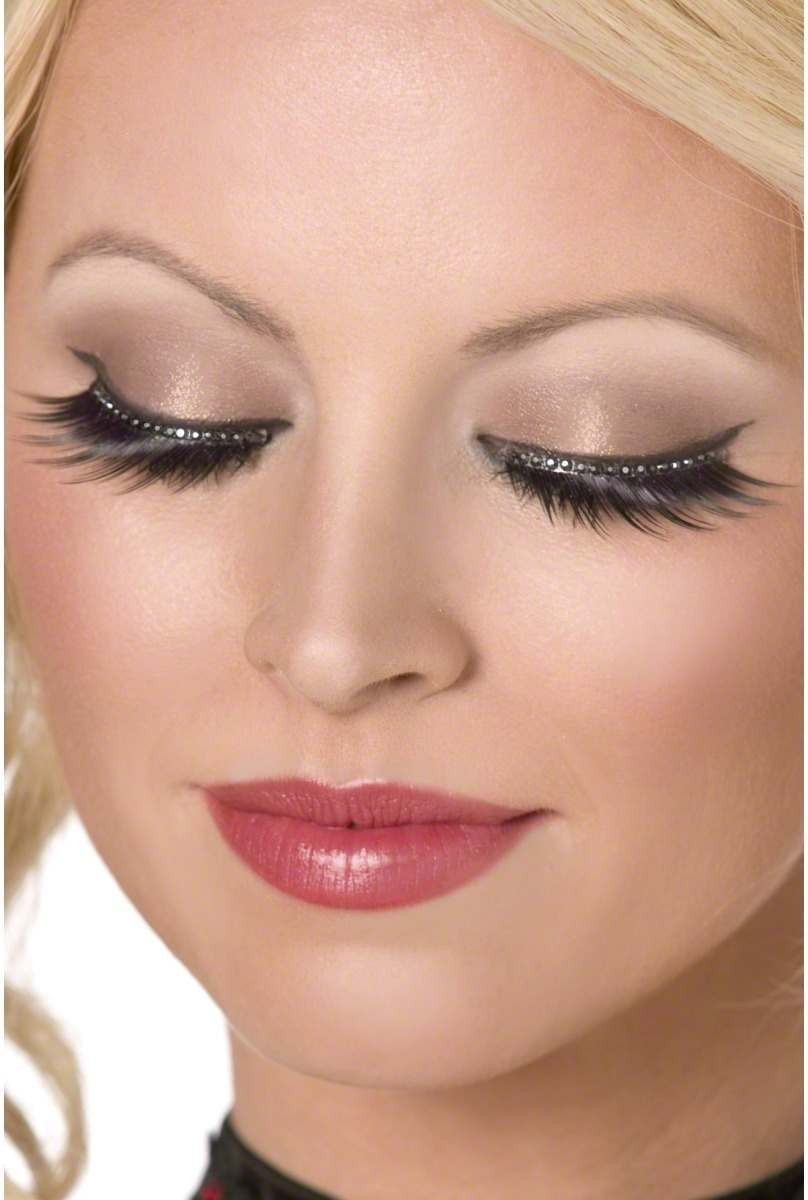 Glamour Eyelashes - Fancy Dress Ladies (Sexy)