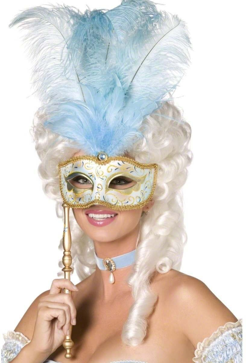 Baroque Fantasy Mask - Fancy Dress Ladies (Sexy)