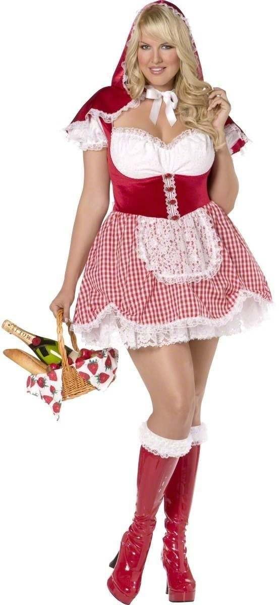 Envy Sexy Red Riding Hood Costume Size 20-22 Ladies (Sexy)