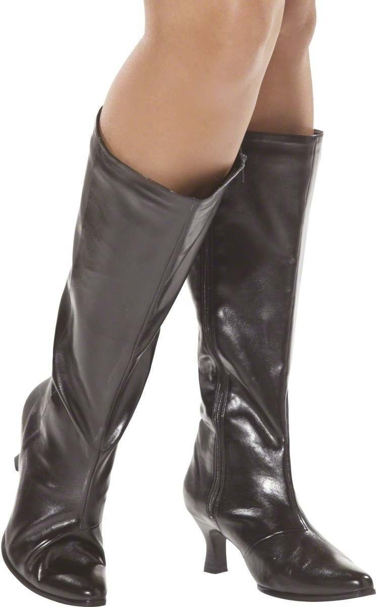 Bijou Boutique Boots Wide Fit - Fancy Dress Size Uk 4 (Sexy)