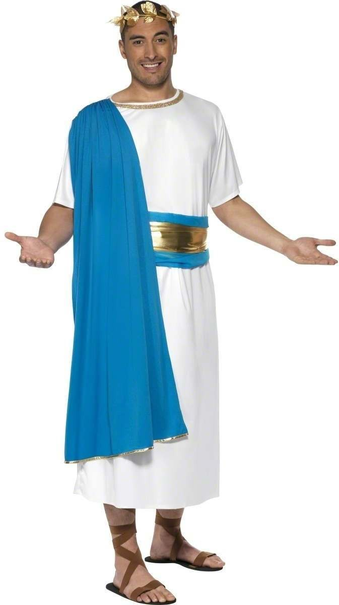 Roman Senator Fancy Dress Costume Mens Size 38-40 S (Medieval)
