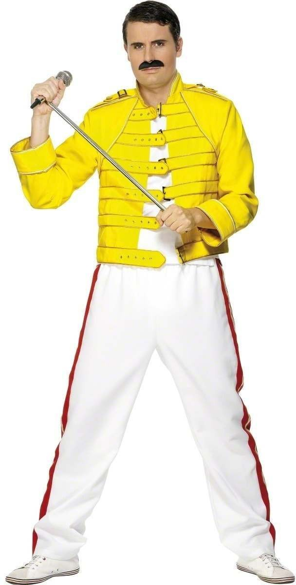 Freddie Mercury Wembley Fancy Dress Costume Mens (1980S , Music)