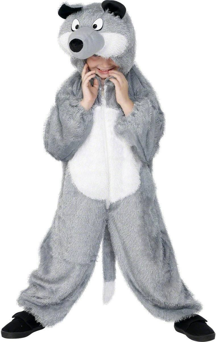 Wolf Costume Age 3 - 5 Fancy Dress Costume Kids Age 3-4 (Animals)