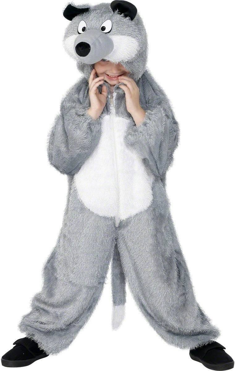Wolf Costume Age 7-9 Fancy Dress Costume (Animals)