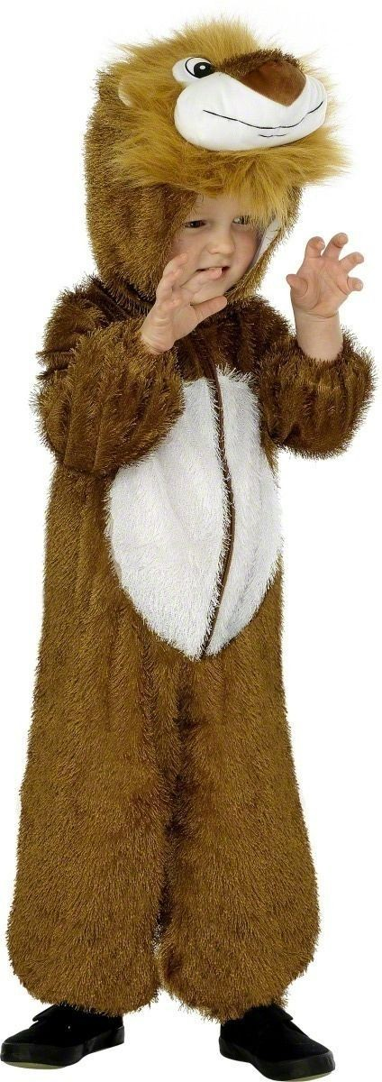 Lion Costume Age 4-6 Fancy Dress Costume Kids Age (Animals)