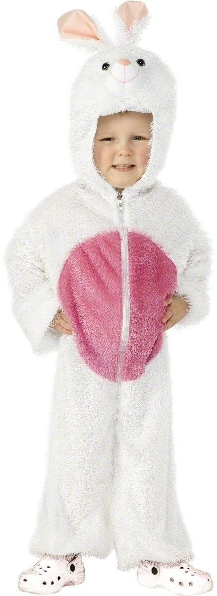 Bunny Costume Age 3 - 5 Fancy Dress Costume Age 4-6 (Animals)
