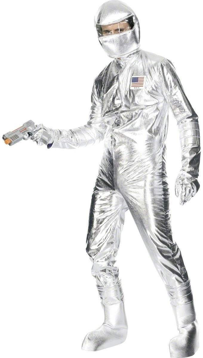 Spaceman Fancy Dress Costume Mens (Army , Film , Sci-Fi)