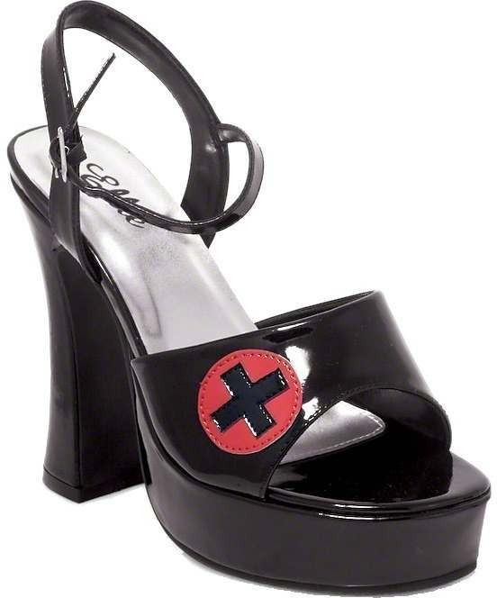 Fever Nurse Shoes - Fancy Dress Ladies (Sexy)