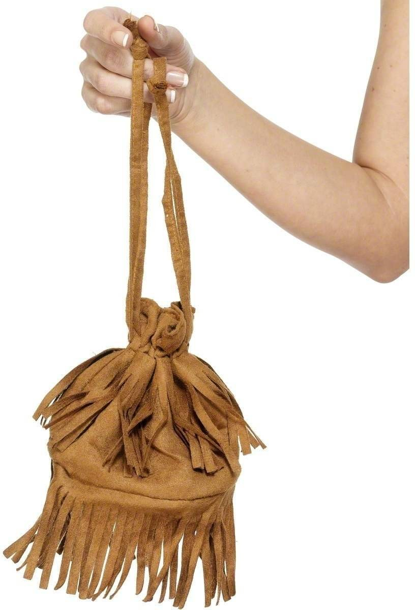 Fever Wild West Handbag - Fancy Dress Ladies (Cowboys/Indians)