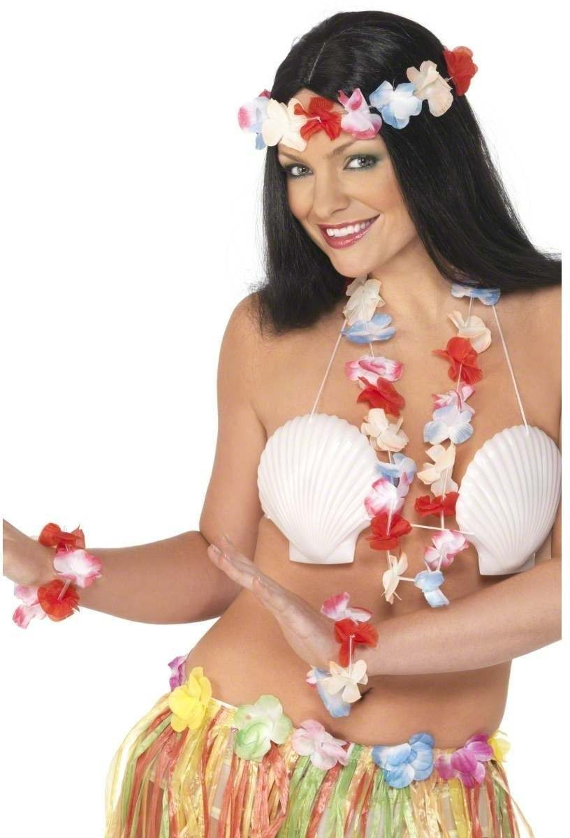 Hawaiian Set Fancy Dress Costume