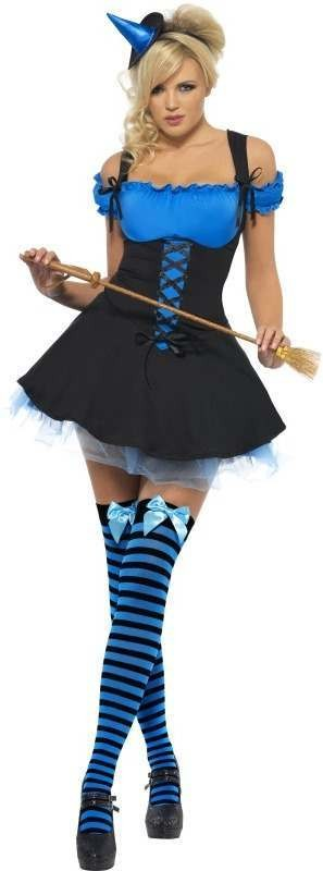 Fever Wicked Witch Fancy Dress Costume