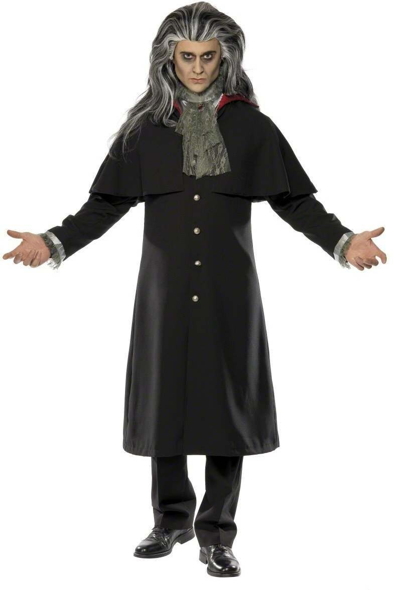 Vampire Jacket Fancy Dress Costume Mens (Halloween)