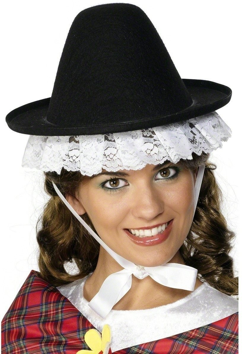 Welsh Cockleshell Hat - Fancy Dress Ladies