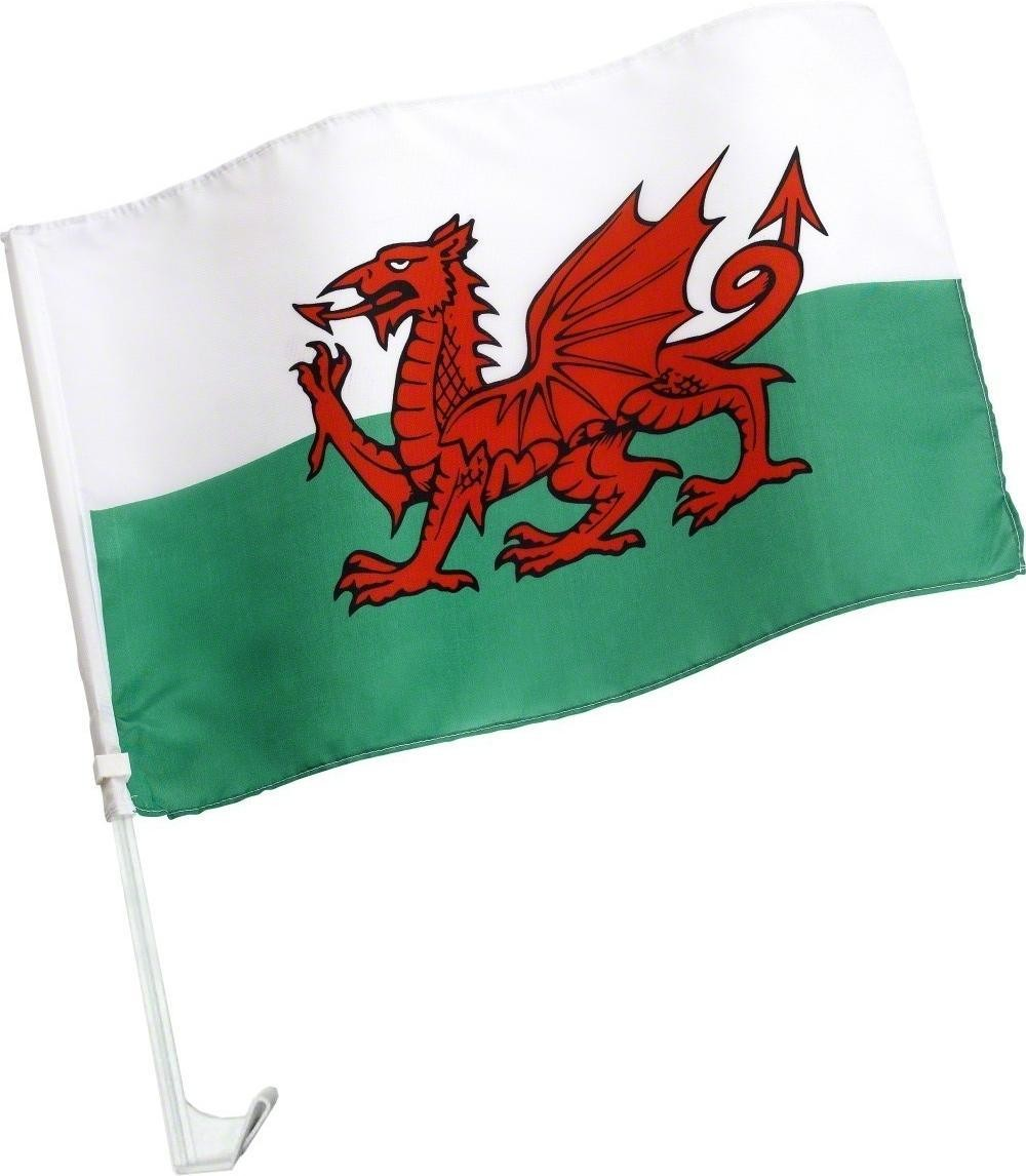 Welsh Car Flag - Fancy Dress