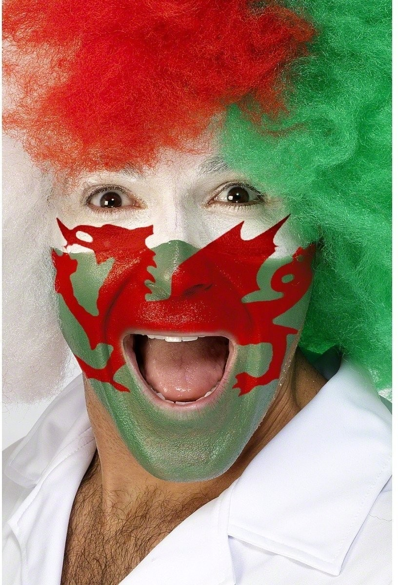 Welsh Colours Face Painting Kit - Fancy Dress