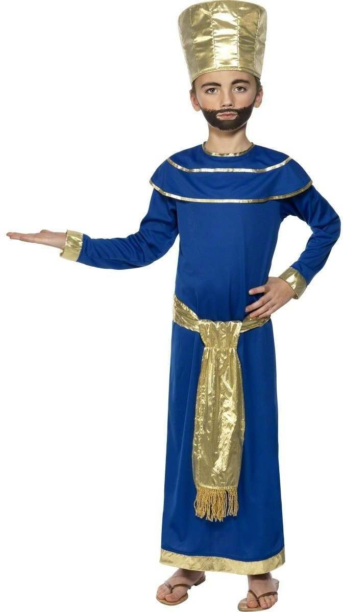Nativity King Caspar Fancy Dress Costume Boys (Christmas)