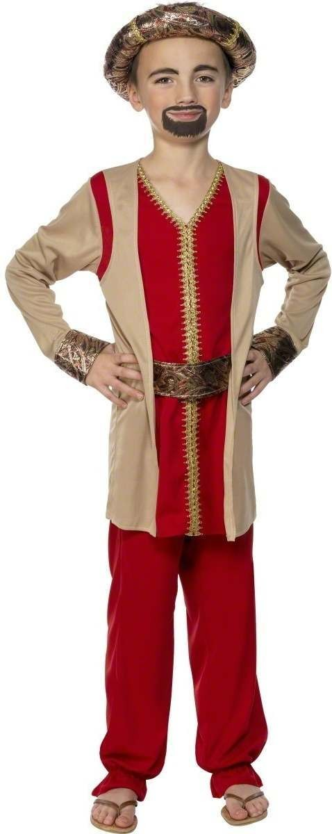 Nativity King Melchior Fancy Dress Costume Boys (Christmas)