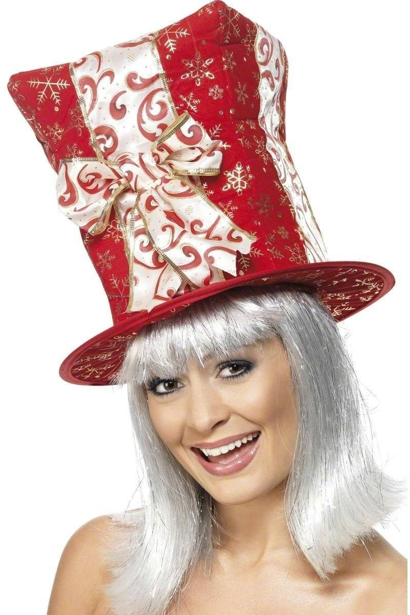 Giftbox Hat - Fancy Dress (Christmas)