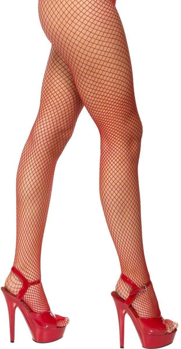 Lattice Net Tights - Fancy Dress Ladies