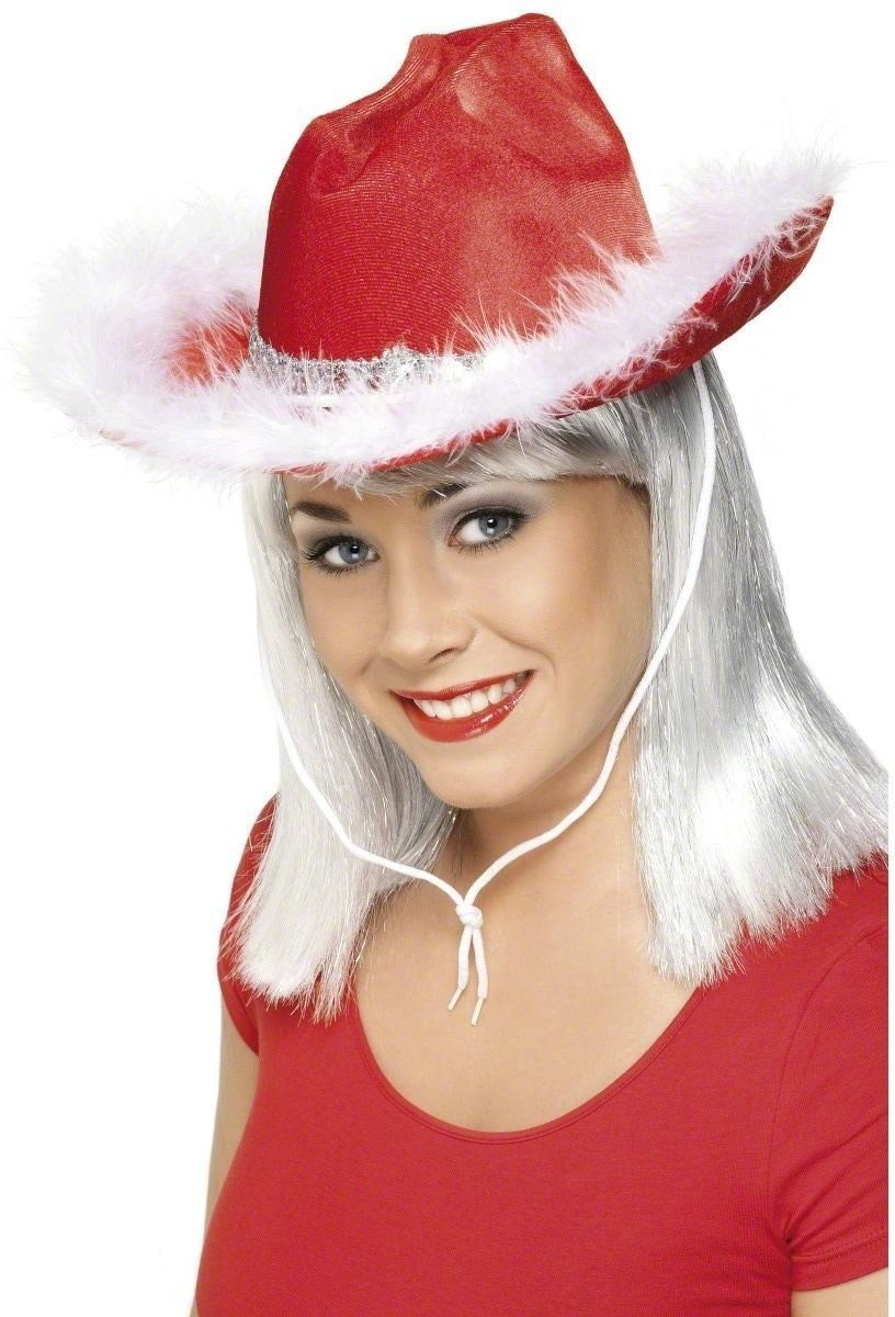 Christmas Cowboy Hat - Fancy Dress (Christmas)