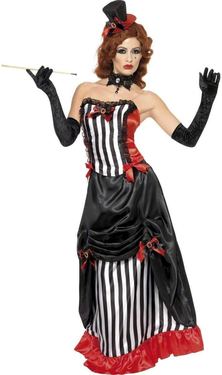 Madame Vamp Fancy Dress Costume Ladies (Halloween)