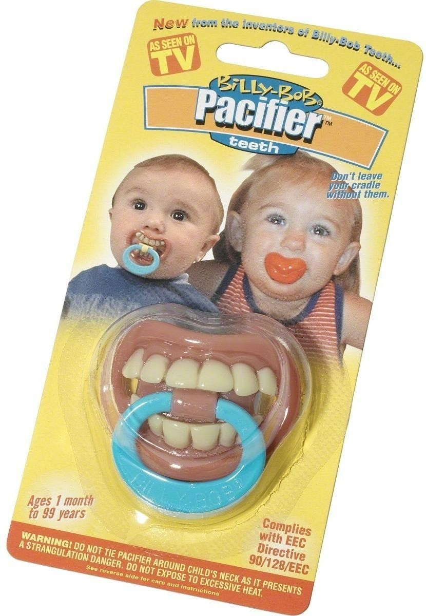 Toddlers Spooky Full Set Of Teeth Dummy (Fancy Dress Accessory)