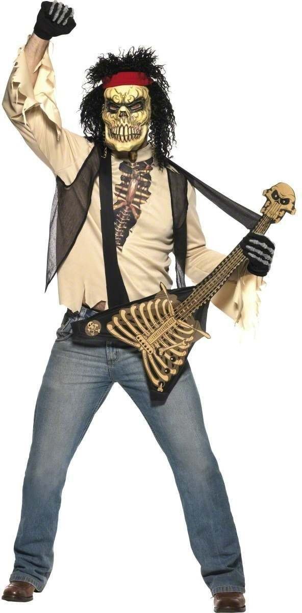 Zombie Rocker Fancy Dress Costume Mens (Halloween)