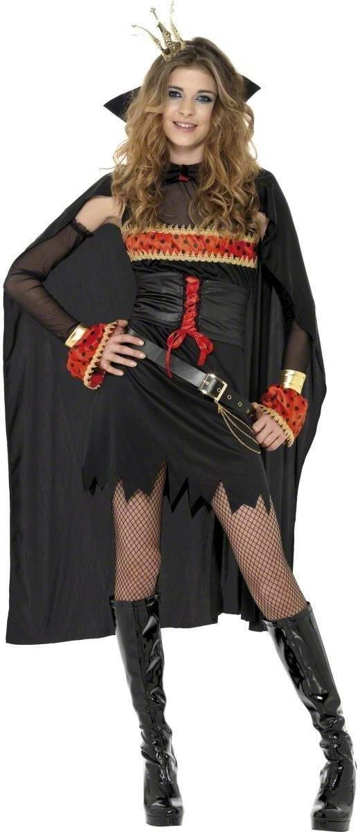 Teen Gothic Lolita Witch Fancy Dress Costume Age 13+ (Halloween)