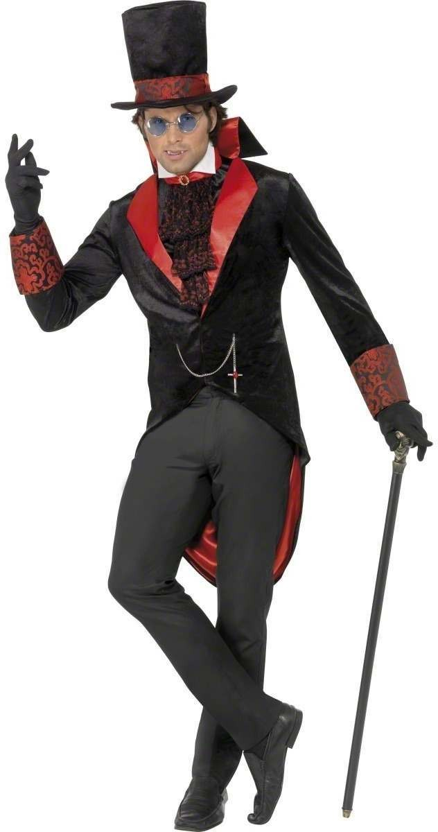 Dracula Fancy Dress Costume Mens (Halloween)