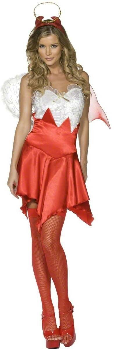 Fever Naughty And Nice Fancy Dress Costume Size 16-18 L (Sexy)