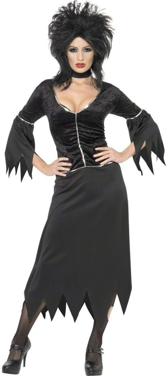 Vampiress Fancy Dress Costume Ladies (Halloween)