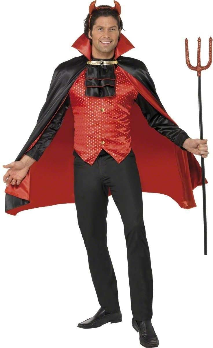 Devil Lord Fancy Dress Costume Mens (Halloween)