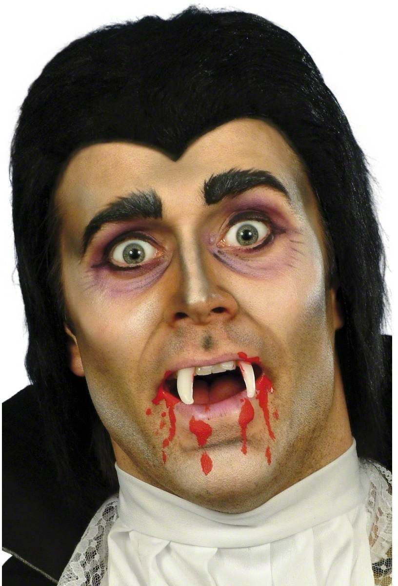 Vampire Set - Fancy Dress Mens (Halloween) - Black
