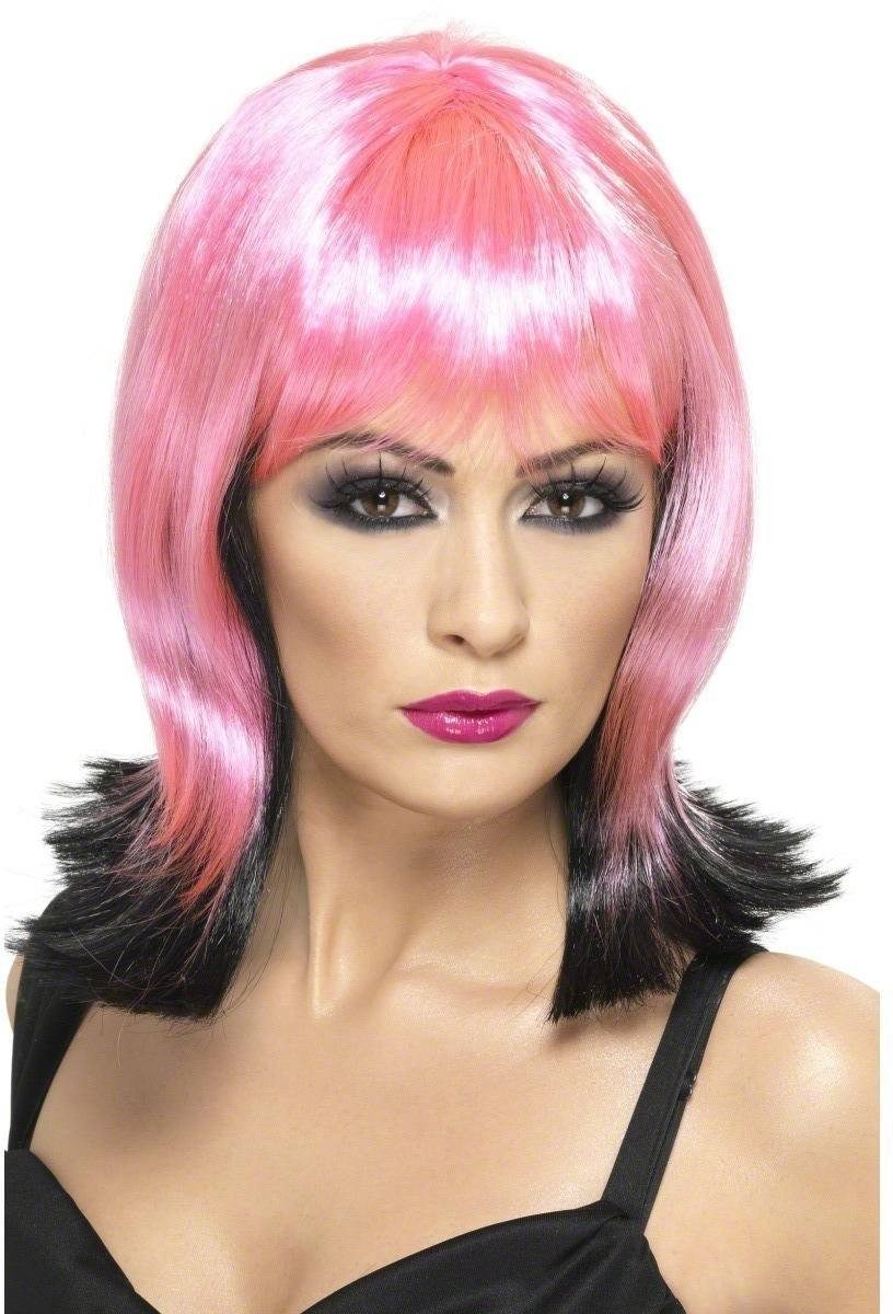 Tainted Garden Fallen Pixie Wig - Fancy Dress Ladies (Halloween) - Black