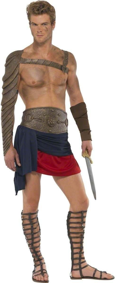 Spartacus Fancy Dress Costume Mens Size 38-40 S