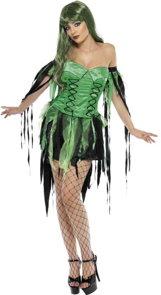 Naughty Fairy Witch Fancy Dress Costume Ladies (Halloween)
