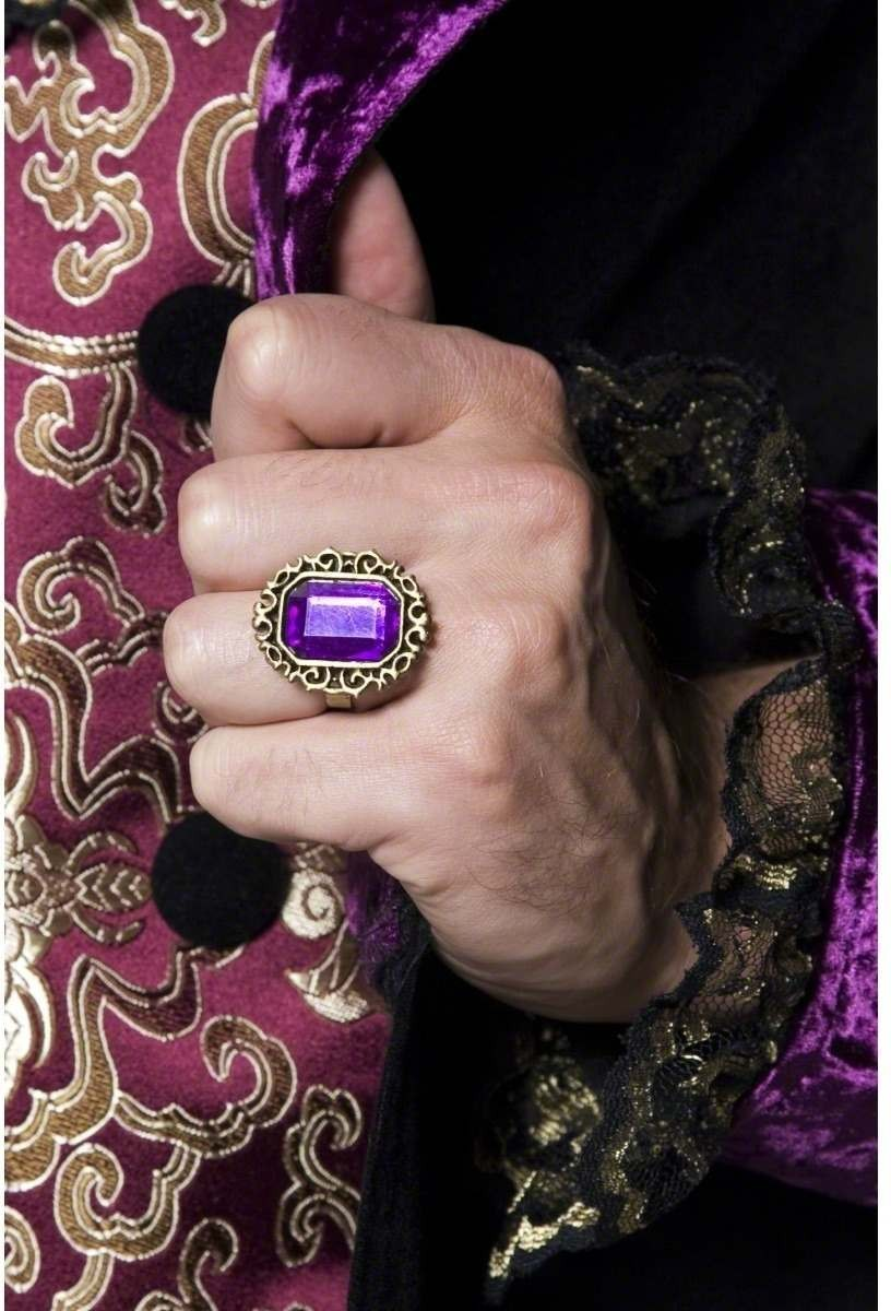 Gothic Jewelled Ring - Fancy Dress (Halloween)