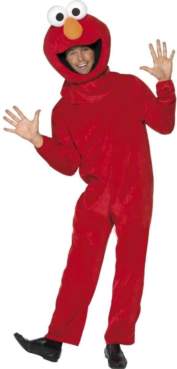 Sesame Street Elmo Fancy Dress Costume (1970S , 1980S , Animals , Cartoon , Tv)