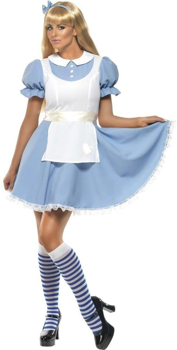 Alice In Wonderland Fancy Dress Costume Ladies (Cartoon)
