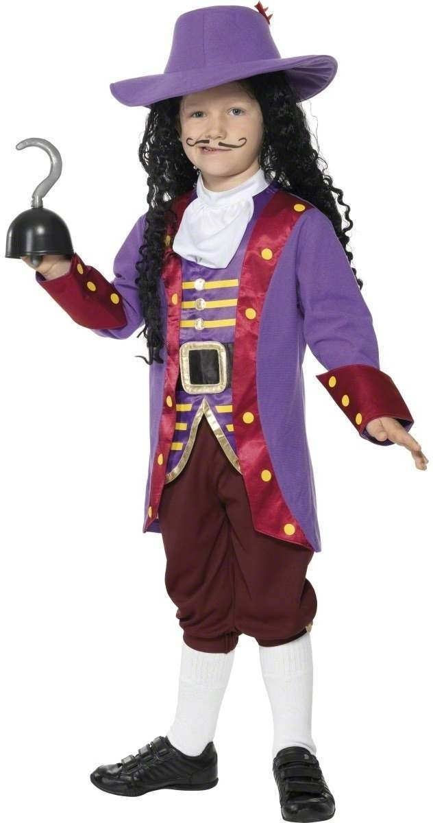 Captain Hook Fancy Dress Costume Boys (Cartoon)